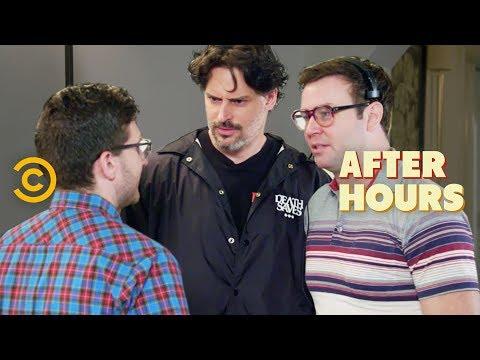 Nerding Out with Joe Manganiello and Taran Killam - After Hours with Josh Horowitz (видео)