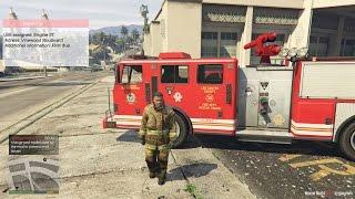 GTA 5 Rescue Mod - Ngày Đầu Làm Lính Cứu Hoả Trong GTA 5