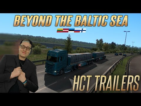 HCT TRAILERY ANEB BEYOND THE BALTIC SEA DLC! | Euro Truck Simulator 2 #84