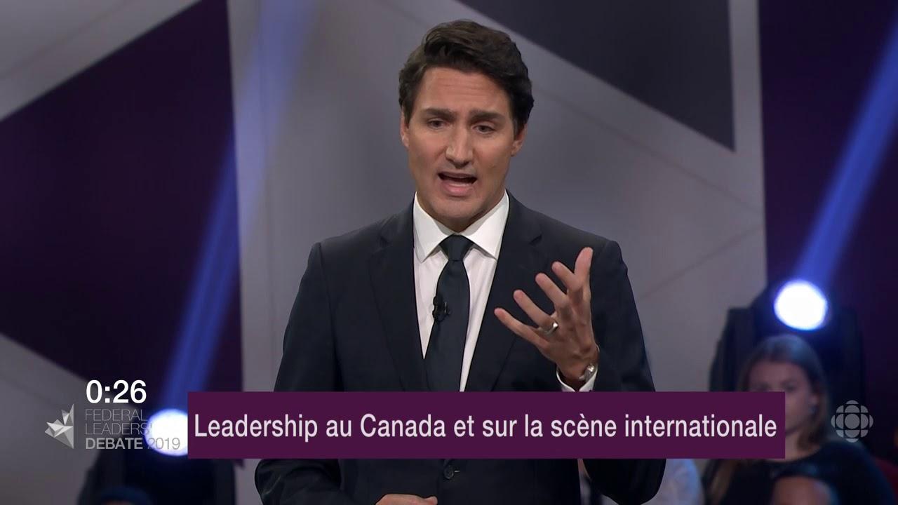Justin Trudeau répond à la question d'un citoyen sur les relations avec les provinces