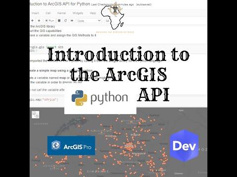 Introduction to ArcGIS API for Python