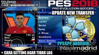 PES 2018 Chelito New & JOGRESS V3 (PPSSPP/iOS/ ANDROID) [links
