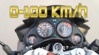 Хонда СБР 600 разгон до 100