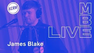 "James Blake Performing ""Assume Form"" Live On KCRW"