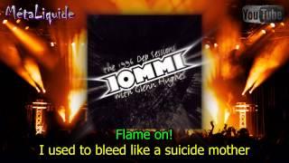 Tony Iommi - Flame On [feat. Ian Astbury] (Lyrics) - MétaLiqude