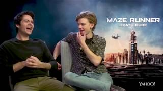 Dylan O'Brien says Thomas Brodie Sangster ditched him at an airport