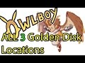 Find All of The Golden Disks In Owlboy