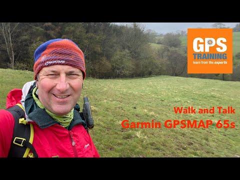 Walk with an Outdoor GPS Unit - Garmin GPSMAP 65s - YouTube
