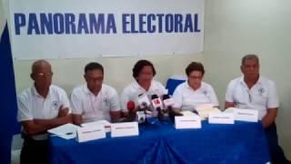 Conferencia de Prensa/Avances del proceso de votaciones en la mañana del 6 de Noviembre 2016
