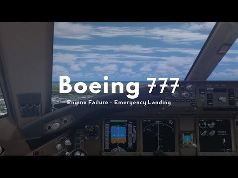 P3D] New PMDG 747-400: Dual Engine Failure and Overweight