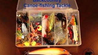 Algonquin Park Backcountry Canoe Fishing Tackle Box