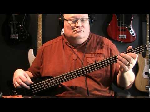 Queen A Kind Of Magic Bass Cover With Notes & Tablature
