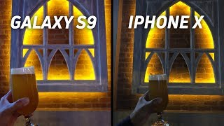 Samsung Galaxy S9 vs Apple iPhone X Camera Shootout
