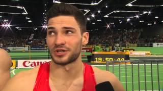 World Indoor Championships Portland 2016 - Tim NOWAK interview