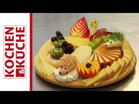Obst schnitzen | Kochen und Küche
