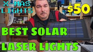 Kevin Reviews Stuff | Review of Best Solar Laser Lights for $50