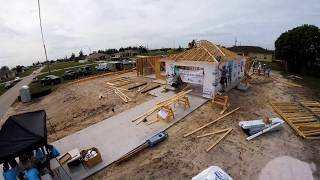 Lee County's First Habitat Home Builders Blitz Build Time Lapse