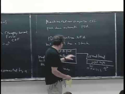L7: Contex-Free Grammars and Push-Down Automata