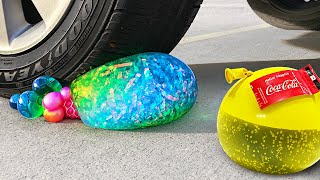 Crushing Crunchy & Soft Things by Car Compilation! - EXPERIMENT: Soda, Squishy, Tide Pods & More!