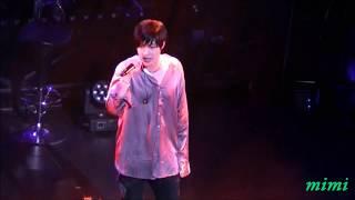 170726 Kim Hyun Joong 김현중 - 고맙다 ~ One More Time / MC  INNER CORE 京都
