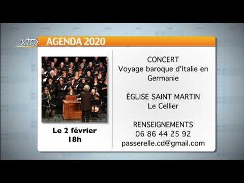 Agenda du 27 janvier 2020