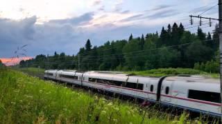 Russian high-speed train / Российские скоростные поезда