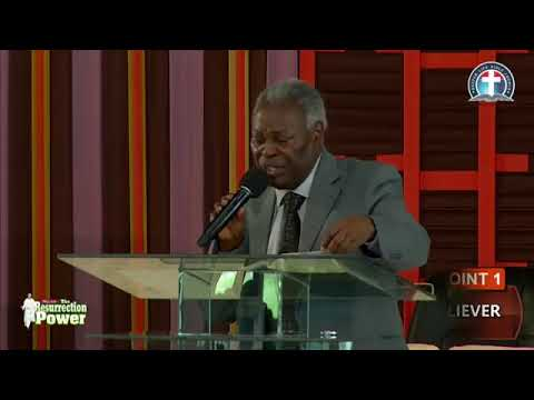 Working with His Resurrection Power   -  Pas. W.F. Kumuyi