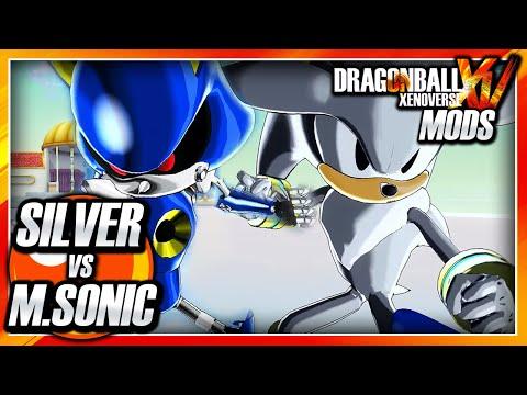 Dragon Ball Xenoverse PC: Silver the Hedgehog Vs Metal Sonic
