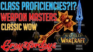 Weapon Masters in Vanilla WoW | Classic Wow Guide