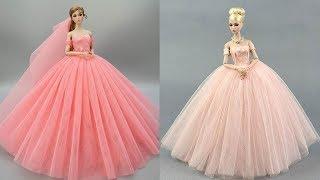 Gorgeous DIY Barbie Doll Dresses ❤️ Toy Hacks Youd Wish Youd Known Sooner