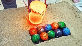 EXPERIMENT LAVA vs Anti Stress Balls