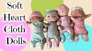 Making Soft Sculpture Baby Dolls With BeBe Babies And Friends