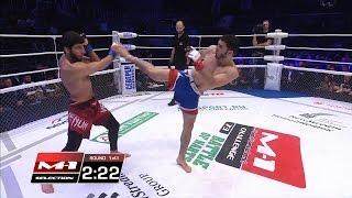Эльмар Мамедов vs Ахмад-Хан Боков, M-1 Challenge 73