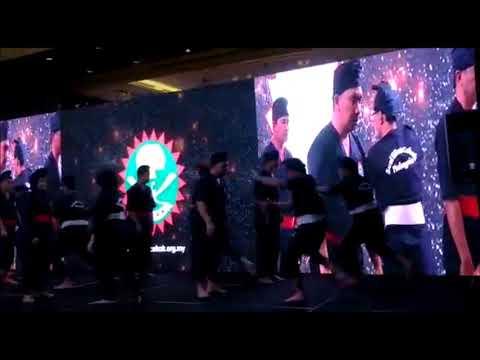 WISE 2018 Istanbul : Persembahan Seni Silat Cekak Malaysia (Award Dinner)