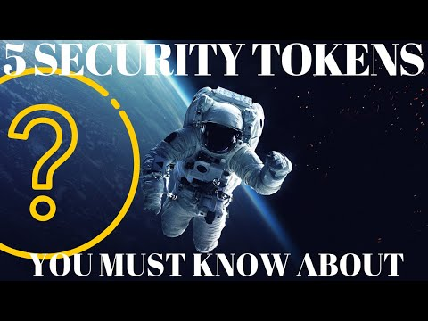 Top Security Tokens and Platforms! Everything you need to know about Tokenized Securities