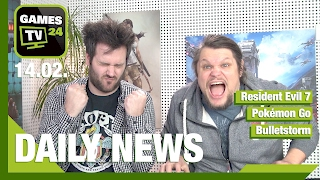 Bulletstorm vom Index, Humble Freedom Bundle, Resi 7 | Games TV 24 Daily - 14.02.2017