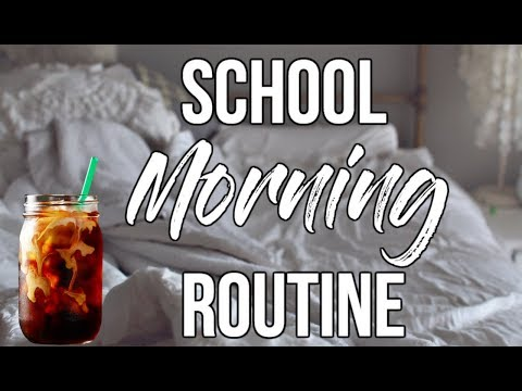 REAL School Morning Routine + Cold Brew Coffee at HOME