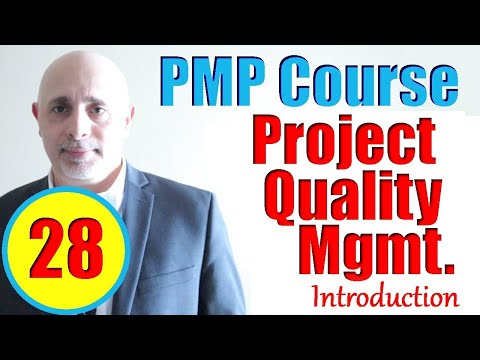Project Quality Management Introduction | PMP Exam Prep Training ...