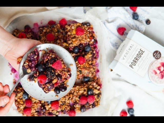 Porridge Berry Slices - Verival