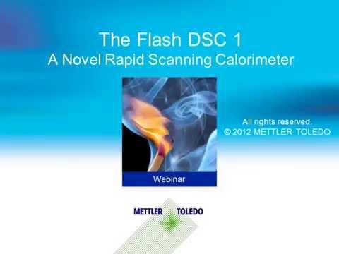 Flash Differential Scanning Calorimetry (Flash DSC) – online training course