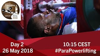 Men's Up to 54kg | World Para Powerlifting European Open Championships | Kholo.pk