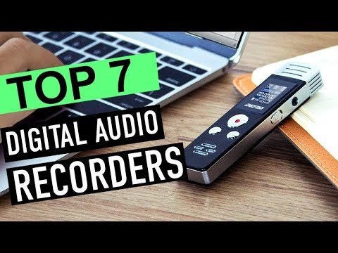 BEST 7: Digital Audio Recorders