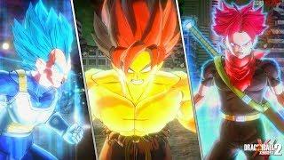 Dragon Ball Xenoverse 2 : New Characters Transformation/Awoken Skills Compilation [Mods]