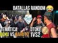 ¡Las BATALLAS mas RANDOM en la HISTORIA! 😂😂 - Batallas de Freestyle