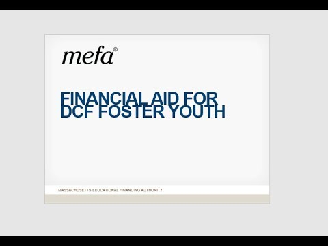 School Counselor Webinar Series: Working with Foster Youth in the Financial Aid Process