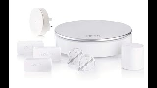 Somfy 2401497A Home Plug and Play Alarm - UNBOXING