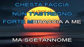 Massimo Ranieri   O surdato nnammurato karaoke