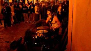 Percussions dans les rues mexicaines