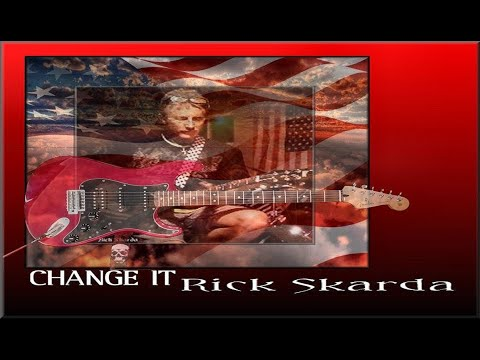 "Stevie Ray Vaughn ~ ""Change It"" Cover Done By Rich Skarda On The Fender Strat."