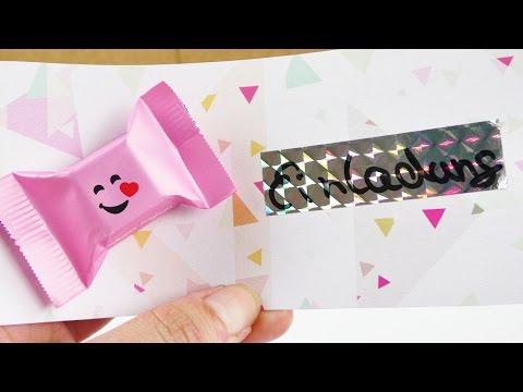 Süße Einladungskarten | Party Einladung mit Schoko Extra | Geburtstagsidee - Kids Club